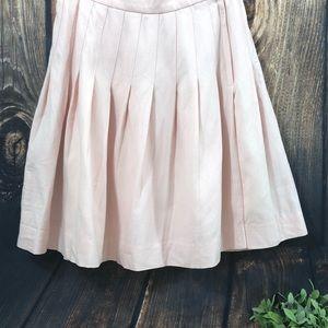 Talbots | Vintage Blush Pink Wool Pleated Skirt